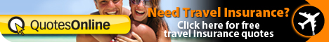 Getting free Travel insurance quotes with Quotesonline is easy